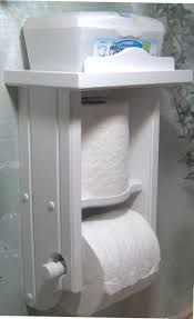 Toilet Paper Holder With Shelf Diy Toilet Paper Holder Ideas Toilets Decoration