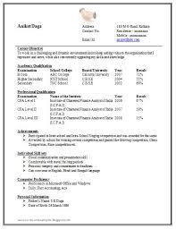 Sample Resume Templates Word by Resume Sample Doc 1 Resume Example Word Doc Mba Format Best Word