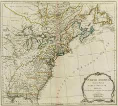 Map Of Colonial America by Of The American Colonies Population Density 1775 Us History Maps