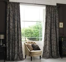 black patterned curtains for bedroom window curtains decolover net