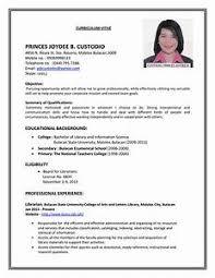 model of resume gallery of 16 cv for teaching job application basic job appication