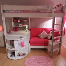 Bunk Bed With Storage Bunk Bed With Sofa Underneath Wayfair Co Uk