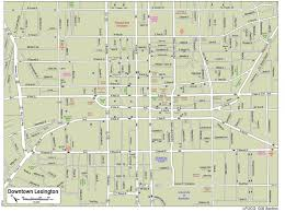 City Of Phoenix Map by Downtown Lexington City Of Lexington