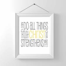 printable i can do all things through christ religious
