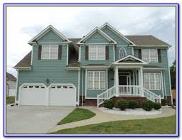 exterior paint colors with orange brick painting home design