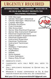 mechanical engineering jobs in dubai for freshers 2013 nissan urgently required managers abroad vacancy jobhunferfb