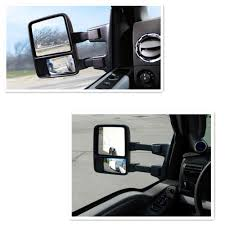Ford F250 Truck Mirrors - for 99 07 ford f250 f550 super duty signal light power heat towing