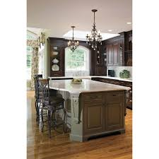 Traditional Dark Wood Kitchen Cabinets Ideas Traditional Kitchen Design With Antique Pendant Lighting By