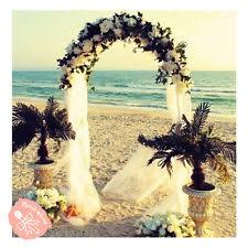 wedding arches decorated with flowers wedding arch decorations ebay