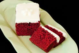 guam recipe of velvet cake with picture of velvet cake and cream