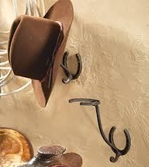horseshoe cowboy hat rack
