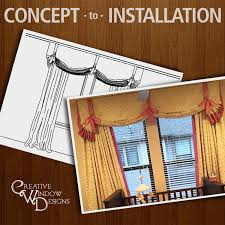 Creative Window Treatments by Creative Window Designs