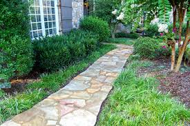 Pictures Of Stone Walkways by Stone Walkway Ideas U0026 Stone Wall Hardscape Inspiration