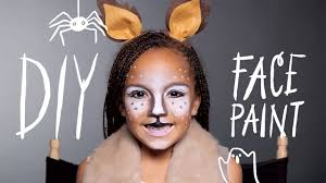 fawn makeup halloween face paint youtube
