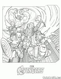 marvel s the avengers coloring pages free coloring pages in