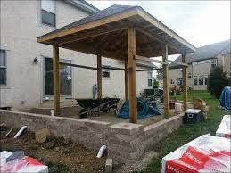 Solid Roof Pergola Kits by Outdoor Marvelous Porch Roof Kits Aluminum Attached Solid Patio
