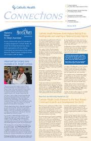 catholic health connections newsletter by catholic health issuu