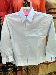 Seragam Sekolah Lengan Panjang jual size 17 18 seragam sekolah lengan panjang putih sd smp sma