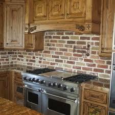 kitchen with brick backsplash 30 best brick back splash ideas images on