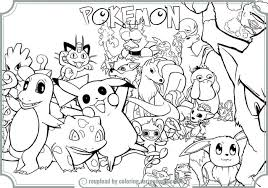 coloring pages endearing color pokemon coloring pages