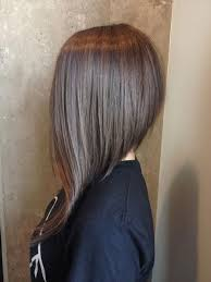 slanted hair styles cut with pictures best 25 long angled hair ideas on pinterest angled lob long