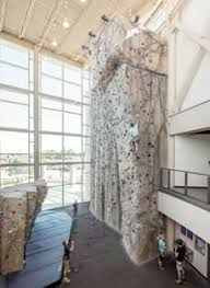 Kansas State University Interior Design Climbing Center
