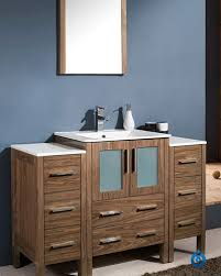Modern Walnut Bathroom Vanity by Fresca Torino 48