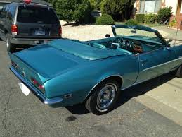1968 camaro rs ss convertible for sale chevrolet camaro convertible 1968 turquoise for sale xfgiven vin