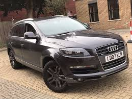 how many seater is audi q7 audi q7 3 6 quattro petrol automatic 7 seater family car top