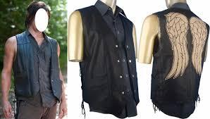 Walking Dead Halloween Costumes Aliexpress Buy Walking Dead Daryl Dixon Costume Jacket