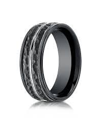 Mens Black Wedding Rings by Alternative Metals Israel Diamond Supply Wholesale Diamonds