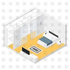 isometric bedroom vector image 72634 u2013 rfclipart