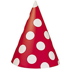 party hats black polka dot party hats 8ct childrens party hats