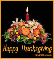 thanksgiving candle flowers glitter graphic greeting comment meme