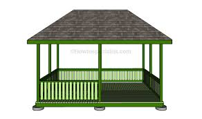 how to make a gazebo howtospecialist how to build step by