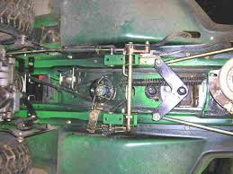 installation and replacement of john deere tractor stx38 and stx46