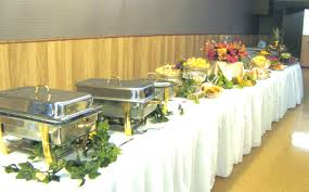 how to set a buffet table with chafing dishes portfolio all about taste