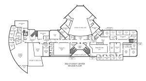 Student Center Floor Plan by 0002 Student Center Gordon State College