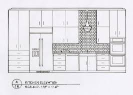 Kitchen Design Drawings Detailed Elevation Drawings Kitchen Bath Bedroom On Behance