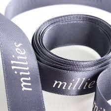 thick ribbon pantone matched thick satin ribbon