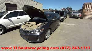 lexus ct200h 2008 parting out 2011 lexus ct 200h stock 6119or tls auto recycling