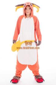 Halloween Onesie Costumes Pokemon Raichu Onesie Halloween Pajamas 4kigurumi