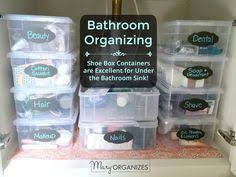 How To Organize Under Your Bathroom Sink - 5 tips for maximizing your under sink space how to organize under