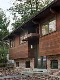 Split Level House With Front Porch Modern Revisited