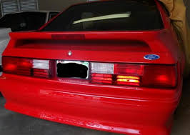 93 mustang lx tail lights mustang gt tail light lens kit 87 93 lmr com