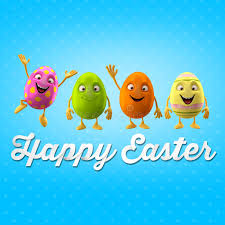 happy easter egg merry 3d set series happy object