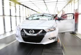 Next Generation Maxima Production Begins On Next Gen 2016 Nissan Maxima U00274 Door Sports