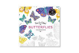 vive le color butterflies coloring book paperback abrams