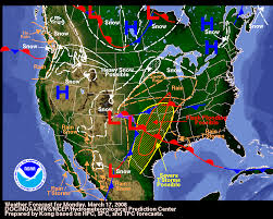 us radar weather map us weather doppler radar map march 16th to march 17th us