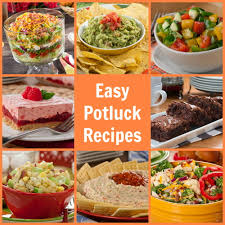 easy potluck recipes 58 potluck ideas mrfood com